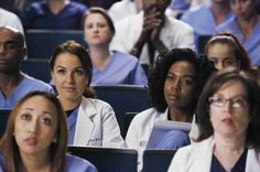 "Jo and Stephanie Look All Inspired-Like in Grey's Anatomy Season 11, Episode 13: ""Staring at the End"""