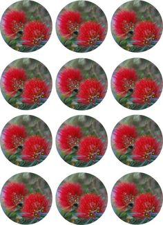 Digital stationery New Zealand Christmas Tree by NewCreatioNZ, $10.00