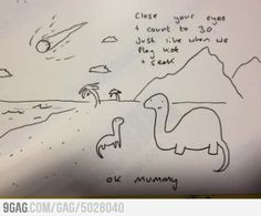 The saddest doodle I have ever seen. It's like in Titanic when the mom reads her kids to sleep! D':
