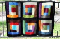 Bold and Beautiful Scrap Afghan - I've been looking for scrap yarn projects. Here's a good one!