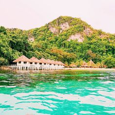 We arrived at our next destination. What do you think about this view?  #watercottage #philippines #apulitisland #ocean #paradise #travel #like4like #holiday #follow4follow #view