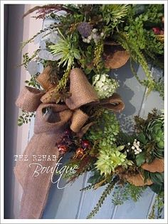 How to build a wreath / the rehab Boutique