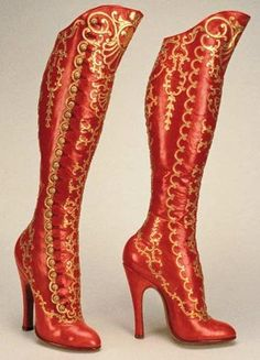 These just might be the most amazing boots I have ever seen.