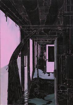 Josef Bolf - Cellar Coridor Cellar, Illustrations, Interior, Artist, Painting, Inspiration, Image, Biblical Inspiration, Design Interiors