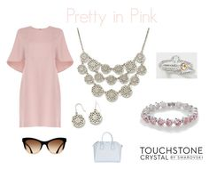 """""""Pretty in Pink"""" by touchstonecrystal ❤ liked on Polyvore featuring Valentino, Givenchy and Touchstone Crystal"""