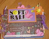 5x7 Softball album - over 30 pages (different sizes)