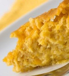 Corn Casserole 1 can whole corn, drained,1 can creamed corn, 8oz sour cream, 2 eggs, 1 box corn muffin mix, 1 stick butter, melted. Preheat the oven to 350 degrees. Spray casserole dish with nonstick spray.  Mix the corn, sour cream and eggs. Don't over mix, just enough so it's blended. Pour in dish. Sprinkle the box of corn muffin mix on top of the casserole. Then drizzle the melted butter as evenly as you can on top of the entire casserole. Bake 1 1/2 hours.