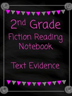 I developed this Fiction Readers Notebook to align with 2nd grade common core standards. This product however can be used in additional grades for enrichment or intervention.  Each page requires students to use text evidence to answer the questions.  This product contains 30 different journal prompts to require students to critically think about the text they are reading.
