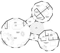Deltec Homes- Floorplan Gallery | Round Floorplans | Custom Floorplans  I think…