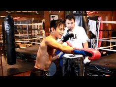 Johnny's Boxing Trick - Strafing Right Counter Pivot Jab - YouTube