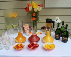 """Photo 4 of 8: Brunch / Baby Shower/Sip  See """"Baby B's Summer Baby Shower""""   Catch My Party"""