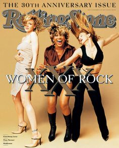 Courtney Love, Tina Turner & Madonna- Rolling Stone Cover, 1997.