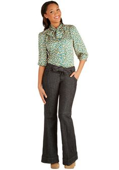 Off to the Office Pants, #ModCloth #casualfriday dress pants