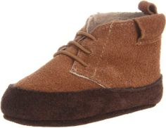 EMU Australia Kingsley Crib Shoe (Infant/Toddler) EMU Australia. $42.75. Made in China. leather. Contrast colour seude EMU tow par outsole. Rubber sole. Premium merino wool insole. Embossed premium suede branding