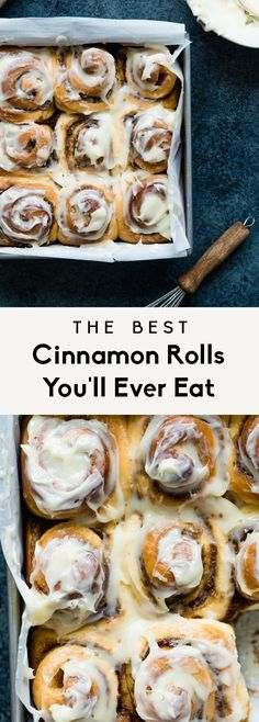 Best Cinnamon Rolls You'll Ever Eat The BEST cinnamon rolls in the WORLD. Big, fluffy, soft and absolutely delicious.Roll Roll or Rolls may refer to: Quick Cinnamon Rolls, Cinnamon Bun Recipe, Kitchen Aid Cinnamon Roll Recipe, Best Cinnamon Roll Recipe, Biscuit Cinnamon Rolls, Brunch Recipes, Breakfast Recipes, Bon Dessert, Rolls Recipe