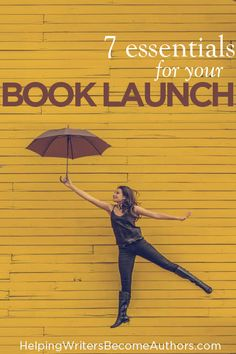 7 Essentials for Your Book Launch
