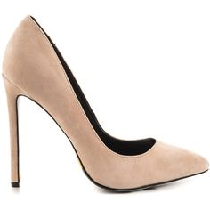 Taylor Says Women's Ember - Blush (16300 RSD) ❤ liked on Polyvore featuring shoes, pumps, beige, beige high heel shoes, beige pumps, pointed toe high heels shoes, pointed toe shoes and pointy toe shoes