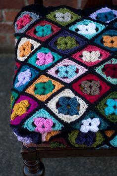 Wallflower Crochet Pattern - http://pinterest.com/Allcrochet