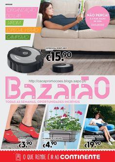 Promoções Continente - Antevisão Folheto Bazarão 5 a 11 julho - http://parapoupar.com/promocoes-continente-antevisao-folheto-bazarao-5-a-11-julho/