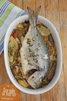 Cocina – Recetas y Consejos Fish Recipes, Seafood Recipes, Mexican Food Recipes, Ethnic Recipes, Easy Cooking, Cooking Recipes, Healthy Recipes, Cooking Ribs, Seafood Dishes