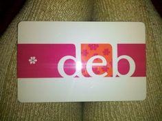 Deb Gift Card