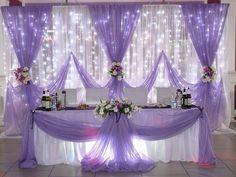 Beautiful Wedding Reception Decoration Ideas - Put the Ring on It Bridal Table Decorations, Quince Decorations, Wedding Centerpieces, Backdrop Decorations, Table Centerpieces, Wedding Reception Backdrop, Wedding Table, Decor Wedding, Wedding Cakes