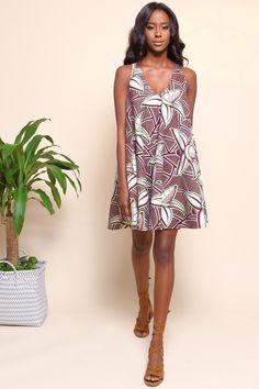 Shop Kuwala.co for the Famatta Swing Dress (Coconut) by suakoko betty