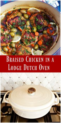 Braised Chicken & Olives from Spinach Tiger Healthy Recipe