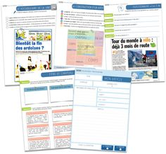 Séquence détaillée + nouveaux documents élèves Créer un journal d'école ou un journal de classeest l'une des expériences professionnelles que j'apprécie le plus.Il demande du …
