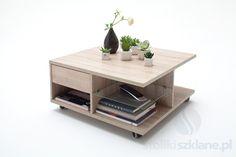 Stolik Kawowy Nesa MCT 4950 | Stoliki, ławy drewniane - sklep - stolikiszklane.pl