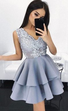 Discount Soft A-Line Prom Dresses, Prom Dresses Short Homecoming Dress, A-Line Prom Dresses, Prom Dresses Short, Prom Dress Homecoming Dresses 2019 Teen Homecoming Dresses, Prom Girl Dresses, V Neck Prom Dresses, Prom Dresses 2017, Party Dresses, Evening Dresses, Formal Dresses, Graduation Dresses, Dress Prom