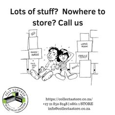 Too much stuff? We have just the self storage unit for you Self Storage Units, Book Storage, Cape Town, The Unit, Books, Collection, Livros, Livres, Book