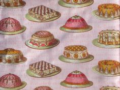 Tea Dainties Lake House Dry Goods fabrics FQ or more by claydeal, $4.49