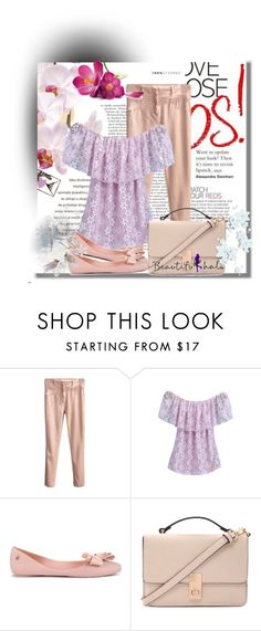 """Beautiful Halo 74"" by azra-90 ❤ liked on Polyvore featuring Melissa and Forever 21"