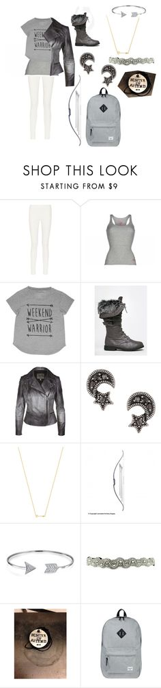 """""""Hunters of Artemis (request by bookwoorm!)"""" by gglloyd ❤ liked on Polyvore featuring The Row, Replay, West Blvd, MuuBaa, Topshop, Wanderlust + Co, Bling Jewelry and Herschel Supply Co."""