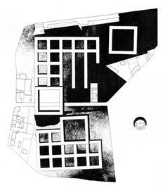A. Rossi, G. Grassi, Progetto di concorso per l'Unità residenziale San Rocco a Monza, 1966
