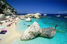 Playa de Costa Esmeralda Italy Tourism, Italy Travel, Costa, Lets Run Away, Sardinia Italy, Need A Vacation, Beaches In The World, Rest Of The World, Toscana