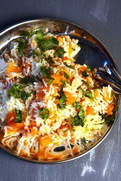 """Pulao au Potiron  """"Le pulao est un grand classique de la cuisine indienne. C'est…"""