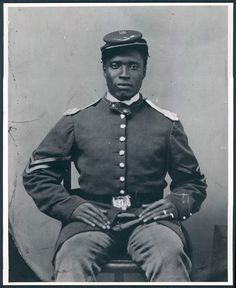 Unknown Soldier, United States Colored Troops  Source: Library of Congress