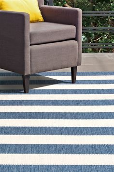 This Machine Made rug would make a great addition to any room in the house. The premium feel and durability of this area rug will make it a must for your home. Blue Chevron, Blue Stripes, Large Area Rugs, Blue Area Rugs, Updating Oak Cabinets, Affordable Area Rugs, Rectangle Area, Rugs Usa, Buy Rugs