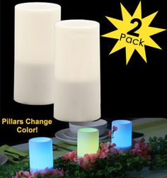 Check out these candles, they can be almost any color you want, inside & out! Found on Pulse TV deal of the day.