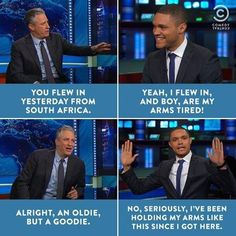 Funny pictures about Trevor Noah On The Daily Show. Oh, and cool pics about Trevor Noah On The Daily Show. Also, Trevor Noah On The Daily Show photos. African Memes, Trevor Noah, Jon Stewart, The Daily Show, Everything Funny, Funny Text Messages, Have A Laugh, Best Funny Pictures, Funny Pics