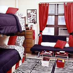 i wish you could get this creative with dorm rooms..