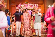 Mumbai Indians all-rounder Krunal Pandya tied the knot with Pankhuri Sharma in an ultimate wedding extravaganza. Haldi Ceremony, Wedding Ceremony, Players Wives, Blue Sherwani, Yellow Suit, Mumbai Indians, Indian Bridal Outfits, Red Lehenga, Wedding Story
