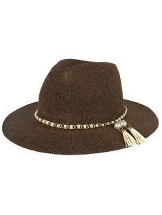 Perlas de imitación de la borla del sombrero de Sun