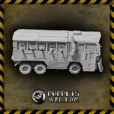 puppetswar.eu - Orc Warbus