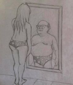 On the inside, we're all Danny DeVito.