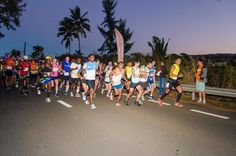 The 2018 Mauritius marathon organised by Racing Republic Mauritius Wedding, Marathon, Basketball Court, Marathons