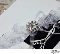 Rhinestone wedding garter set  keepsake garter toss by VioGemini, $44.99