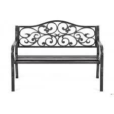 Znalezione obrazy dla zapytania ogrodowe ławki metalowe